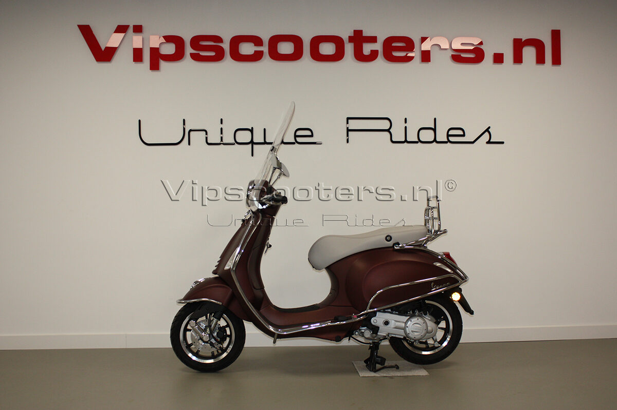Vespa Primavera 50TH  Marrone Chrome