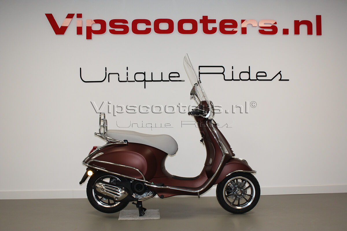 Vespa Primavera 50TH Anniversary Marrone Chrome 13