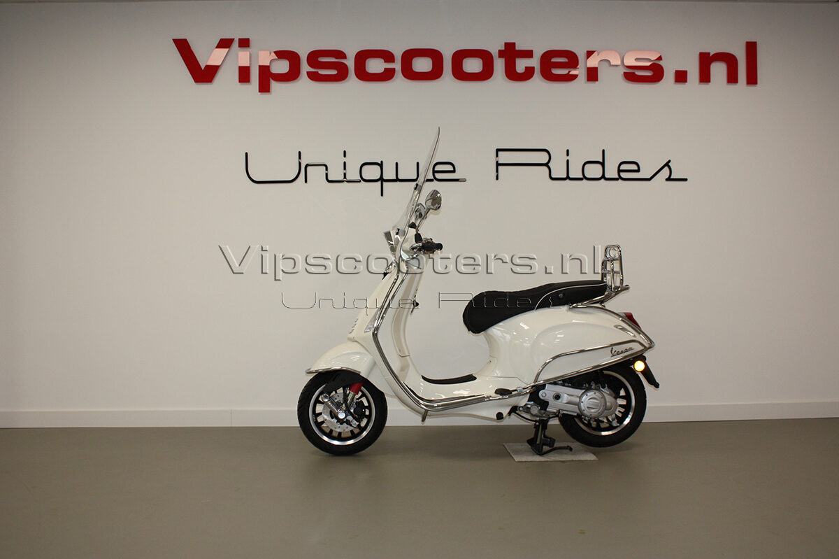 Vespa Sprint Montebianco Chrome