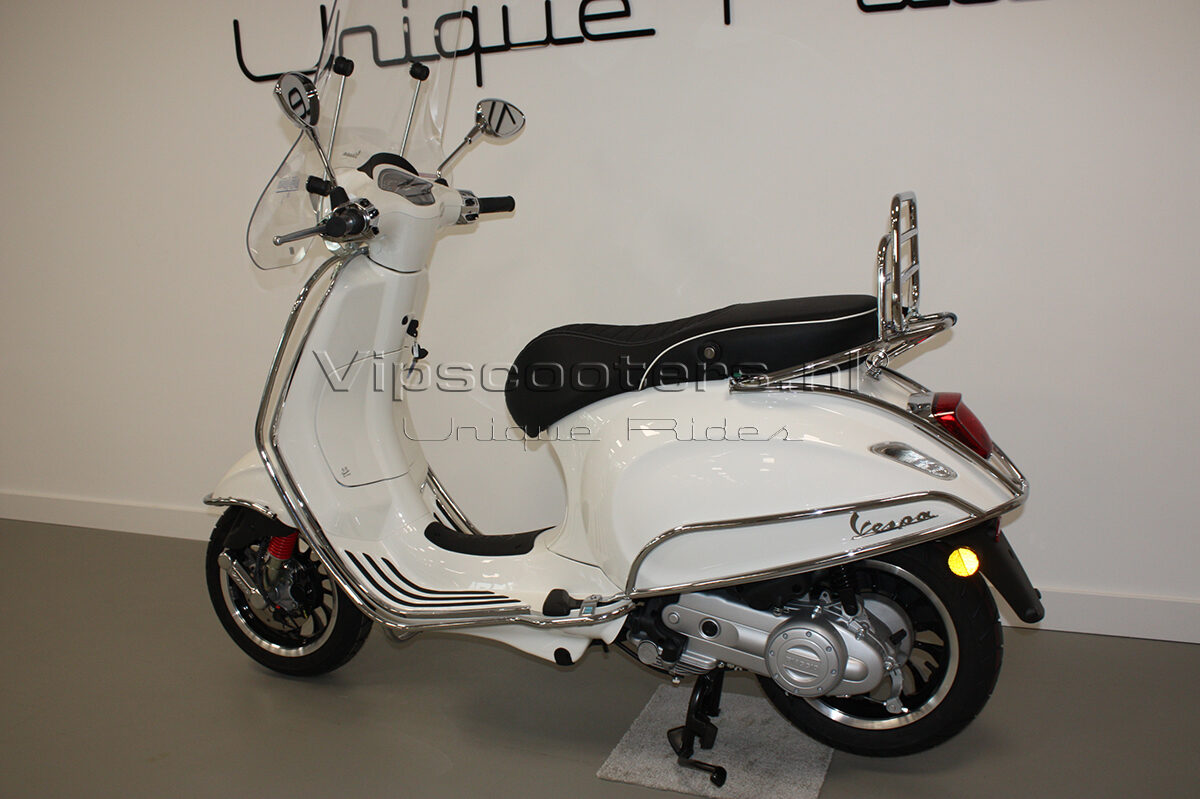 Vespa Sprint Montebianco Chrome 6