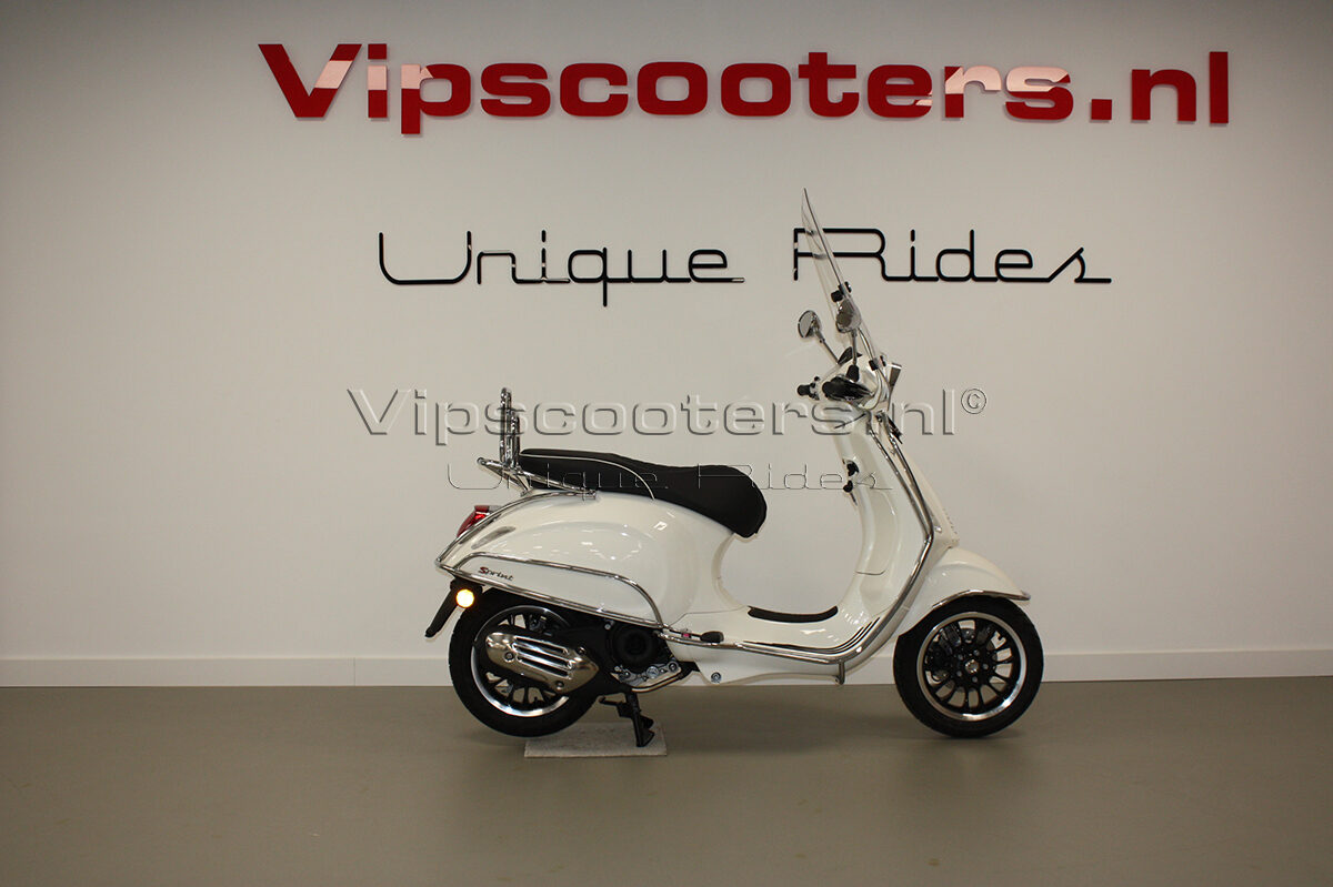 Vespa Sprint Montebianco Chrome 10
