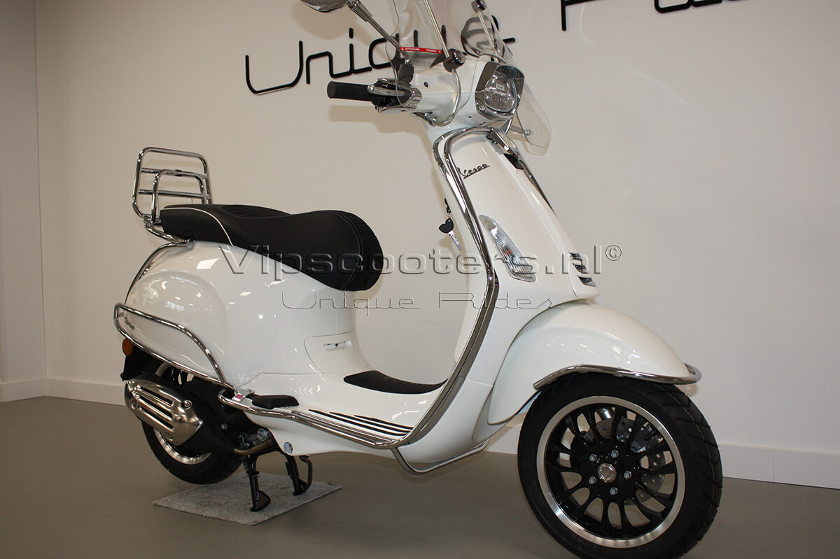 Vespa Sprint Montebianco Chrome 13