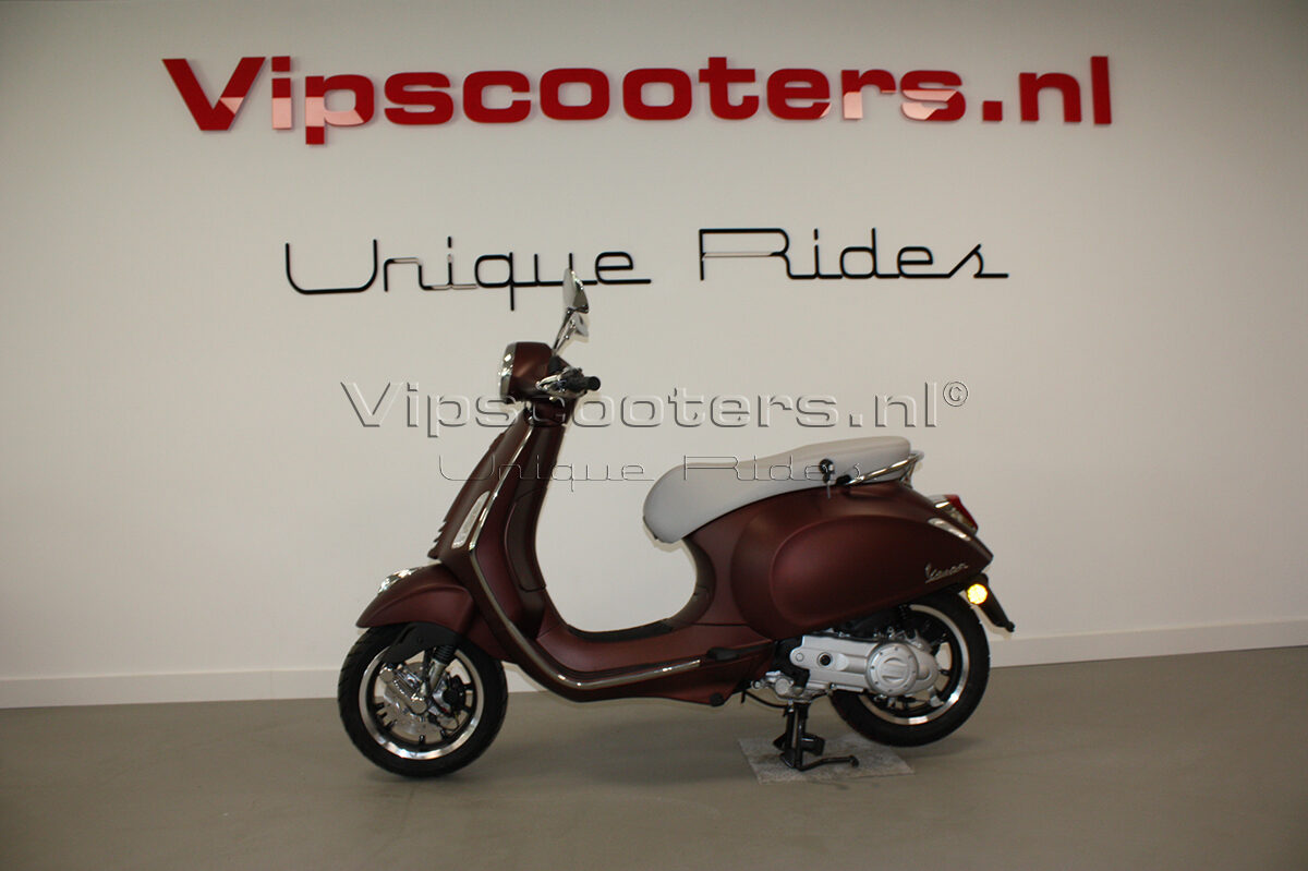 Vespa Primavera 50TH  Marrone Origineel