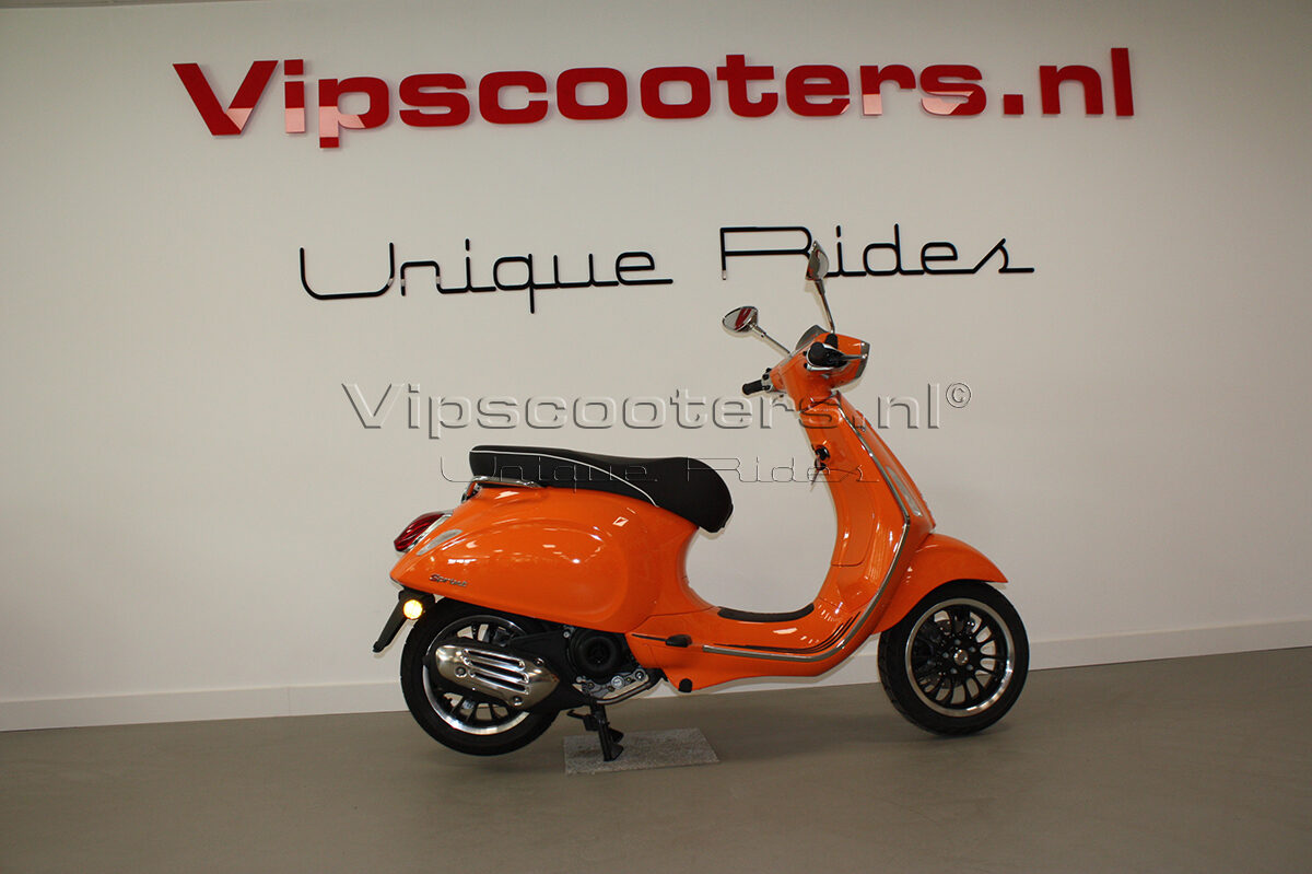 Vespa Sprint Orange Pastello 5