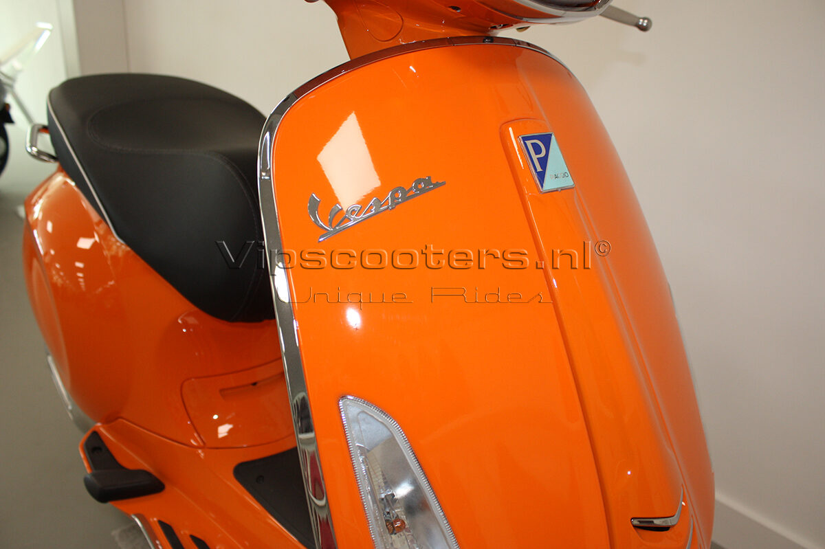 Vespa Sprint Orange Pastello 7