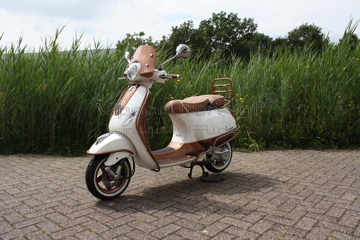 Vespa LX Montebianco Copper